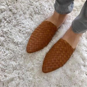 Shoes - Unworn Woven Mules (Made in Bali)